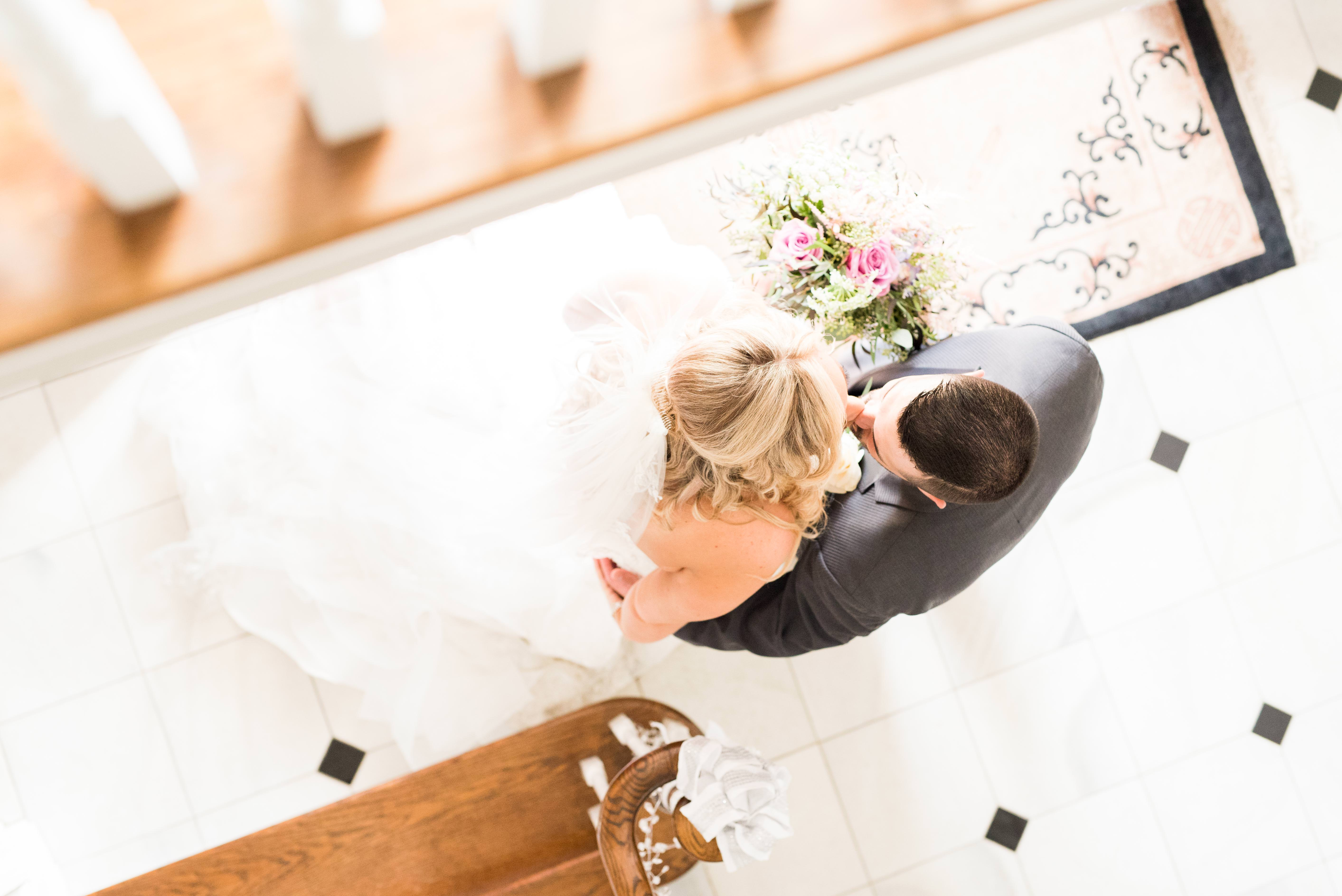 first look, first reveal at Five Bridge Inn Rehoboth, MA by Q Hegarty Photography wedding photographer near Boston, MA