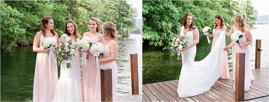 lake Winnipesaukee wedding