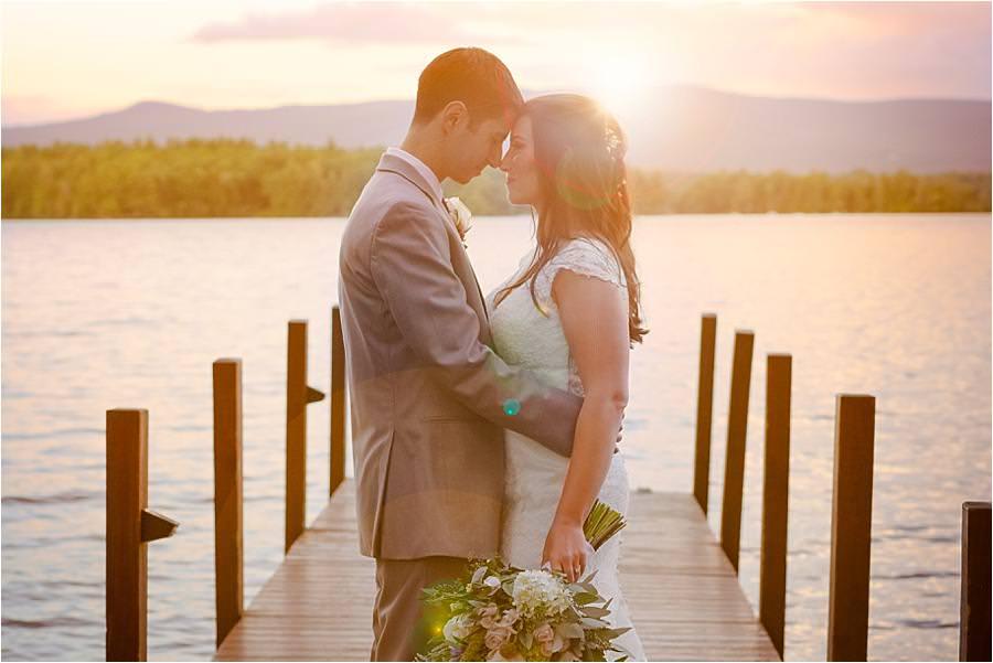 lake Winnipesaukee wedding Q Hegarty Photography