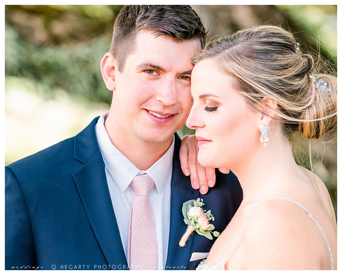 groom's portraits by Q Hegarty PhotographyThe red barn at outlook farm wedding