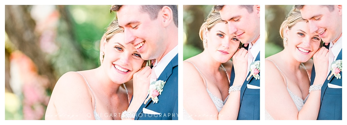 gorgeous bride and groom portraits red barn outlook farm wedding by Q Hegarty Photography