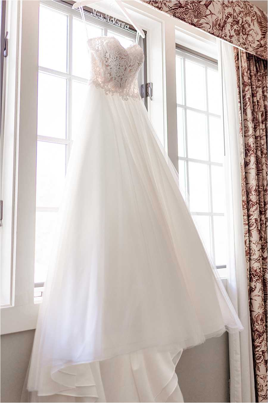 bridal gown Chase House at Mill Falls wedding Meredith NH