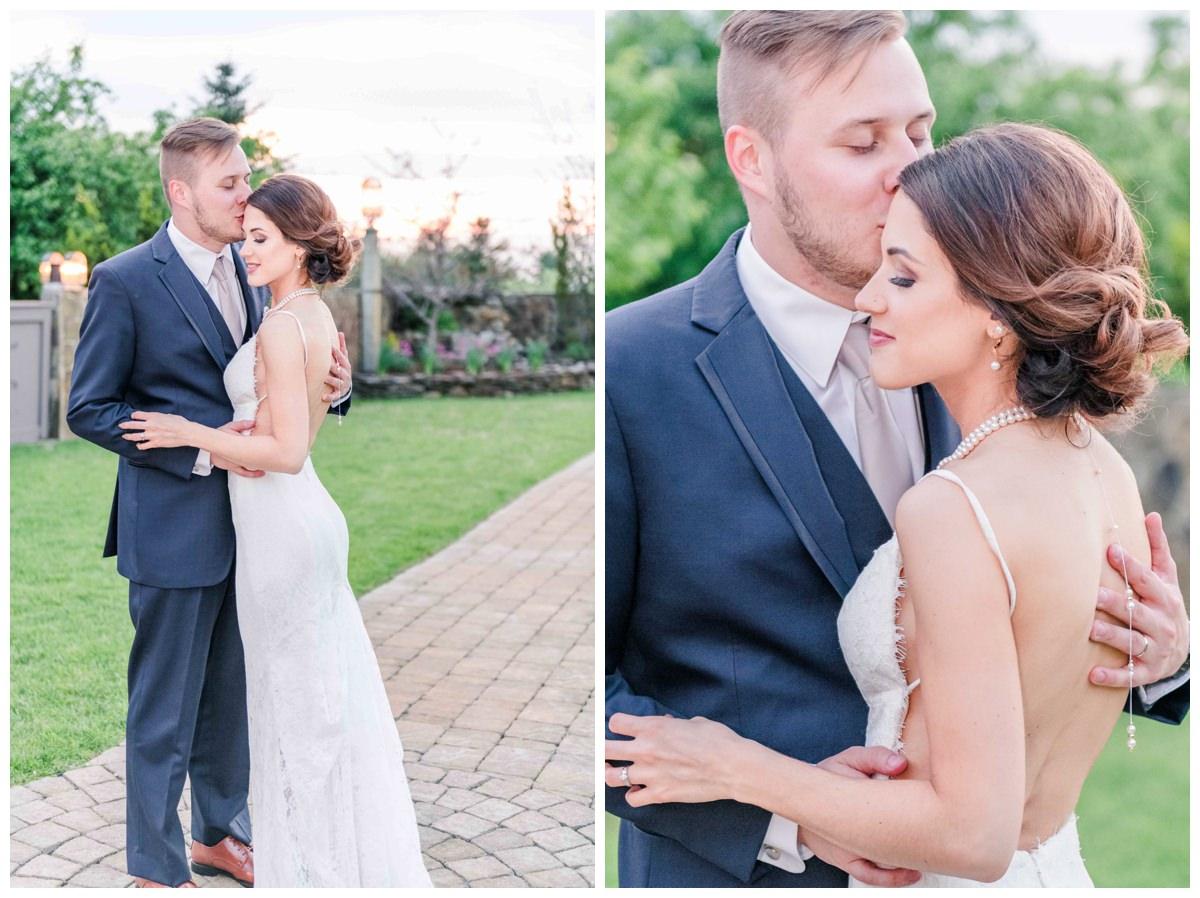 romantic sunset bride and groom photos Wedgewood Granite Rose Wedding photographer Hampstead, NH Q Hegarty Photography
